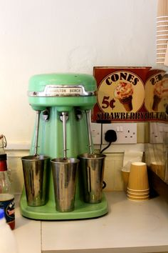 Mary's Milkbar Edinburgh Homemade Icecream