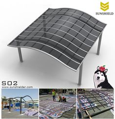 Our polycarbonate patio shelter is designed for homeowner or contractors with prefabricated structures which would both receive DIY(do it by yourselves) project and save much installation time. #polycarbonatecover #aluminumcarport #patioshade #homeoutdoorspace #parkinglot #porchshade #terraceawning #backyard #background #gardenshade #gardencover #shelter #carport #patioshed #wavedroof #patioidea #patiocoveridea