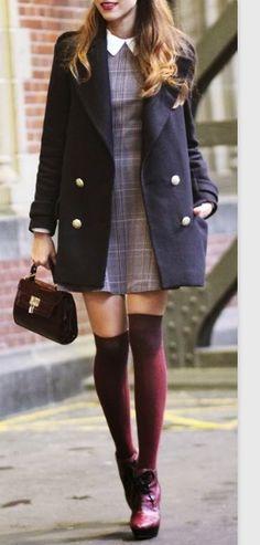 Cute fall fashion look!