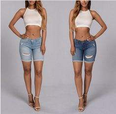 Now available on our store: Womens Trendy Rip... Check it out here! http://www.shoesity.com/products/womens-trendy-rip-casual-denim-shorts?utm_campaign=social_autopilot&utm_source=pin&utm_medium=pin