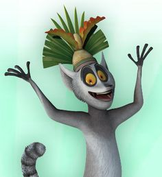 King Julian!!!  He is the one reason I will watch this show with my little man - what an absolutely hilarious character!
