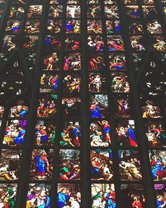 Inside me are stained glass windows that have never been broken. // I love this place so much  @duomodimilano by lafilledubonheur