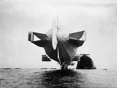 Zeppelin on the Bodensee
