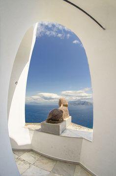 Anacapri is a comune on de island of Capri, in de province of Naples_ Italy