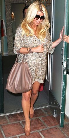 Jessica Simpson's amazing maternity style!
