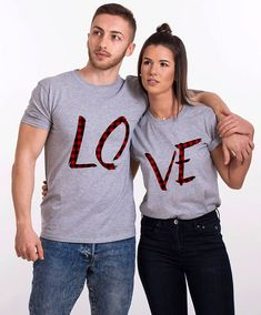 Couples gift set, Love Couples shirts, Matching couples gift set, Gift idea for couple, Couples shirts, Gift set of couples, Couples shirts ◆ ◆ ◆ ◆ ◆ ◆ ◆ ◆ ◆ ◆ ◆ ◆ ◆ ◆ ◆ ► THE PRICE IS FOR THE SET OF TWO MATCHING SHIRTS. ► The print is on the FRONT of the T-shirts (on the back upon