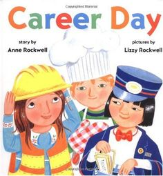 Career Day by Anne Rockwell; community helper ideas with printables- other career focused books for kids Community Helpers Lesson Plan, Community Helpers Kindergarten, Community Helpers Activities, Kindergarten Social Studies, School Community, Teaching Social Studies, In Kindergarten, Literacy Activities, Summer Activities