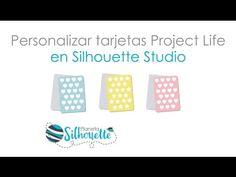 Trucos para diseñar tarjetas para Project Life en Silhouette Studio