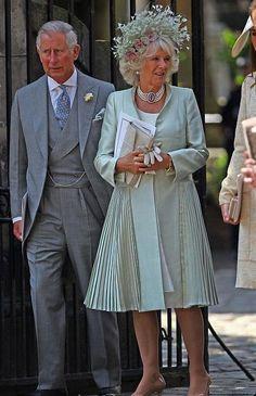 Prince Charles and Camilla Duchess of Cornwall .
