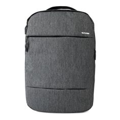 The City Compact Backpack features padded laptop compartment, quick-access pockets and padded shoulder straps. Shop more laptop backpacks here. Backpack For Teens, Men's Backpack, Black Leather Backpack, Black Tote Bag, Minimalist Bag, Minimalist Design, Backpacks For Sale, School Backpacks, Work Bags