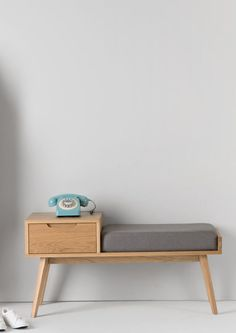 Perfect Jenson Storage Bench, Oak The post Jenson Storage Bench, Oak… appeared first on Home Decor Designs . Vintage Telephone Table, Telephone Seat, Wood Furniture, Furniture Design, Asian Furniture, Furniture Making, Hallway Storage, Hallway Bench, Bench Decor