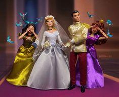 Disney Princess Dolls, Cinderella Carriage, Cinderella Disney, Disney Dolls, Walt Disney, Princess Zelda, Disney Princesses, Disney Movies, Disney Characters