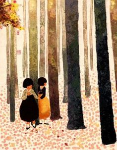 Korean illustrator Tjsiu