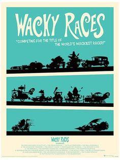 Wacky Races Poster Masterprint at AllPosters.com