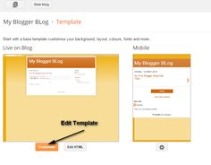 How To Create a Blog on Blogger Site ( With Pictures )