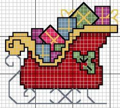 * few New Year's schemes - Jacquard - the Country of Mothers Cross Stitch Christmas Ornaments, Xmas Cross Stitch, Cross Stitch Cards, Christmas Cross, Cross Stitching, Cross Stitch Embroidery, Christmas Charts, Cross Stitch Designs, Cross Stitch Patterns