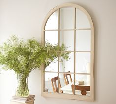 I have a window mirror...I need to repaint it and put something gorgeous in front of it.