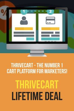 The best shopping cart and sales page creator you can get. Grab a one-time deal for creating high converting carts and upsells to boost sales. Marketing Software, Email Marketing, The Number 1, Mobile Responsive, Increase Sales, Growing Your Business, Selling Online, Page Design, Online Business