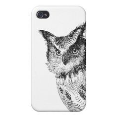 Owl Iphone Case iPhone 4 Cases