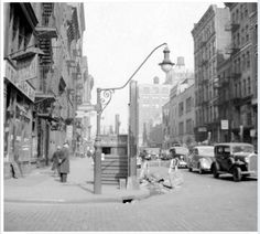 nyc lamp post 1955 - Google Search