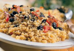 The User's Guide to Quinoa - recipes for breakfast, dessert, and in main dishes.