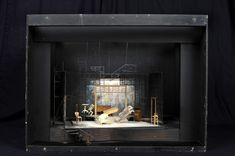 The Glass Menagerie, By: Tennessee Williams  Venue: NAC Theatre  Year: 1997  Designer: Cameron Porteous