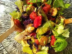 colorful salad from Kale with Love