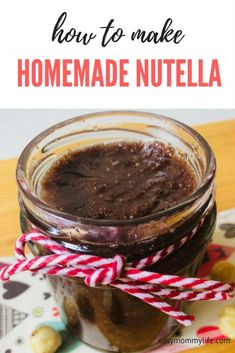 Easy Homemade Nutella Recipe: 4 ingredients only!