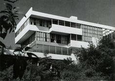 Lovell House designed by Richard Neutra during the 1920s