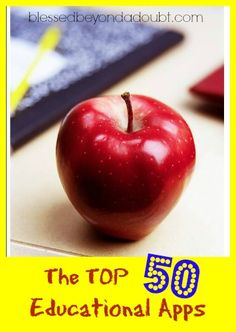 The TOP 50 Educational Apps for Children! Is your favorite one on the list?