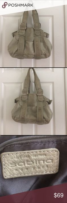❣️ SALE! Sabina NY Purse Well used. Color: dark mint green. Genuine Leather. Willing to take offers! Sabina New York Bags