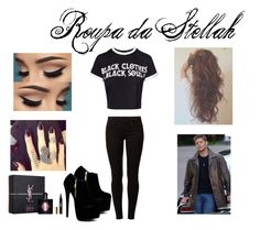 """Dean"" by kjchbhdc on Polyvore featuring moda, Dorothy Perkins e Yves Saint Laurent"