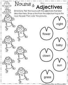 First Grade Worksheets for Spring - Planning Playtime