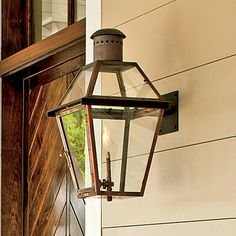 Notice the Details: Gas Lanterns - 10 Ways To Add Cottage Style - Southern Living - so beautiful!!