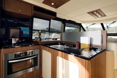 Galley in Blue By You, 50 Foot Azimut Magellano