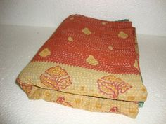 Indian Traditional Kantha Quilt Reversible by Antiquecollections, $29.90