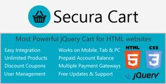 Ajax Cart for HTML websites with Digital Products http://codecanyon.net/item/ajax-cart-for-html-websites-with-digital-products/4903762?ref=damiamio OUR NEW SUPPORT ADDRESS thesuperblab@hotmail Introduction Secura – AJAX Cart is a powerful system which can be integrated to new/old HTML websites to extend their functionality as a Cart with downloadable products. You can now sale your digital products right from your old HTML website. You don't need to use OpenCart or any other cart for your…