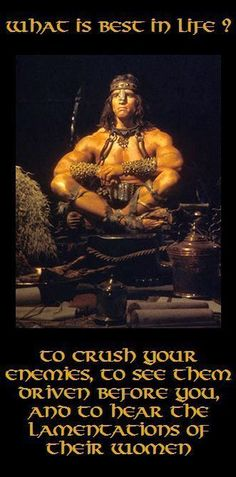 Conan The Barbarian, Conan The Destroyer, Red Sonja