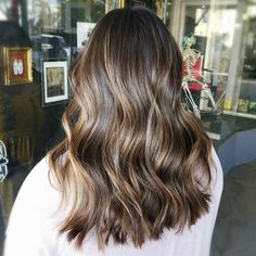 Balayaged @daniellelouisette Caramel Balayage, Balayage Hair, Short Hair Styles, Envy, Brass, Beauty, Instagram, Bob Styles, Short Hair Cuts