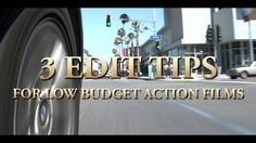 Low-Budget Editing Techniques for Action Sequences