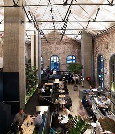 Higher Ground Gourmet Traveller   Melbourne   Australia   Warehouse   Restaurant   Cafe   Style   Interiors   Decoration   Design