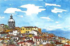 Hoi! Ik heb een geweldige listing op Etsy gevonden: https://www.etsy.com/nl/listing/121342274/lissabon-lisboa-portugal-art-print-van