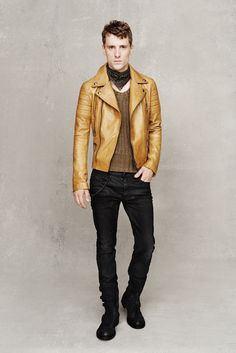 Belstaff | Spring 2015 Menswear Collection | Style.com - minus the bandana