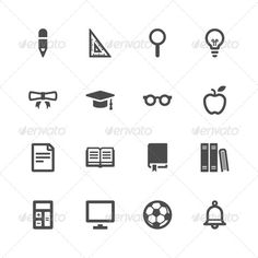 Education Icons - Miscellaneous Icons