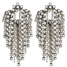 DANNIJO Cecile Earrings ($300) ❤ liked on Polyvore