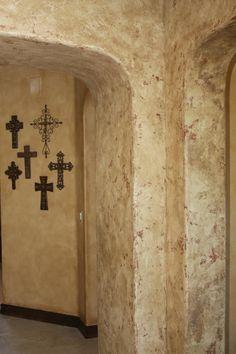 Venetian Plaster - Basement