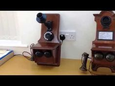 The first standard British GPO telephone No1 (Vintage Wall Telephone) - YouTube