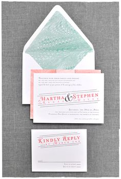 Marbled Bliss Wedding Invitation Suite | Marble Paper | Smitten On Paper