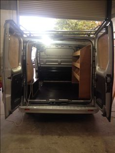 Ford Transit Van Conversion Completed Carpeting Ply Lining