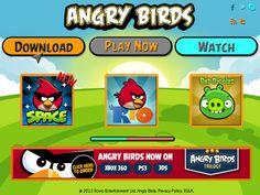 Propuesta Digital para web de Angry Birds Curso: Diseño de Interfaces Multimedia